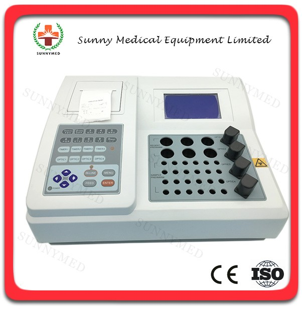 SY-B147 Hospital Machine Electric Coagulation Meter Portable Blood Coagulometer