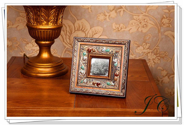 2015 Hot Sale Retro Manual Wood Photo Frame With High Quality