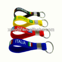 2013 NEW & HOT custom silicone keychains