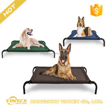 outdoor travel rest cool breathable elastic washable cheap raised elevated dog bed for sale