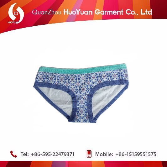 2017 OEM new design High Waist Cotton Period Panties Wholesale Women Underwear
