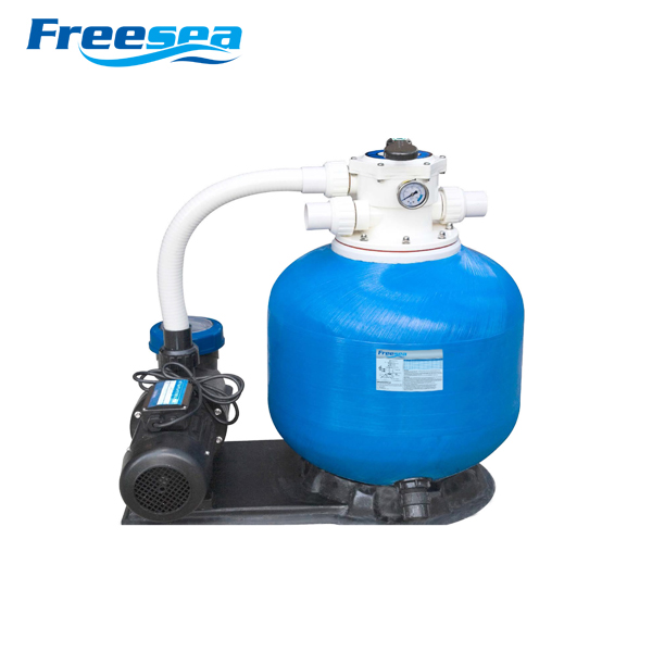 2016 FREESEA swimming pool sand filter and pump combo