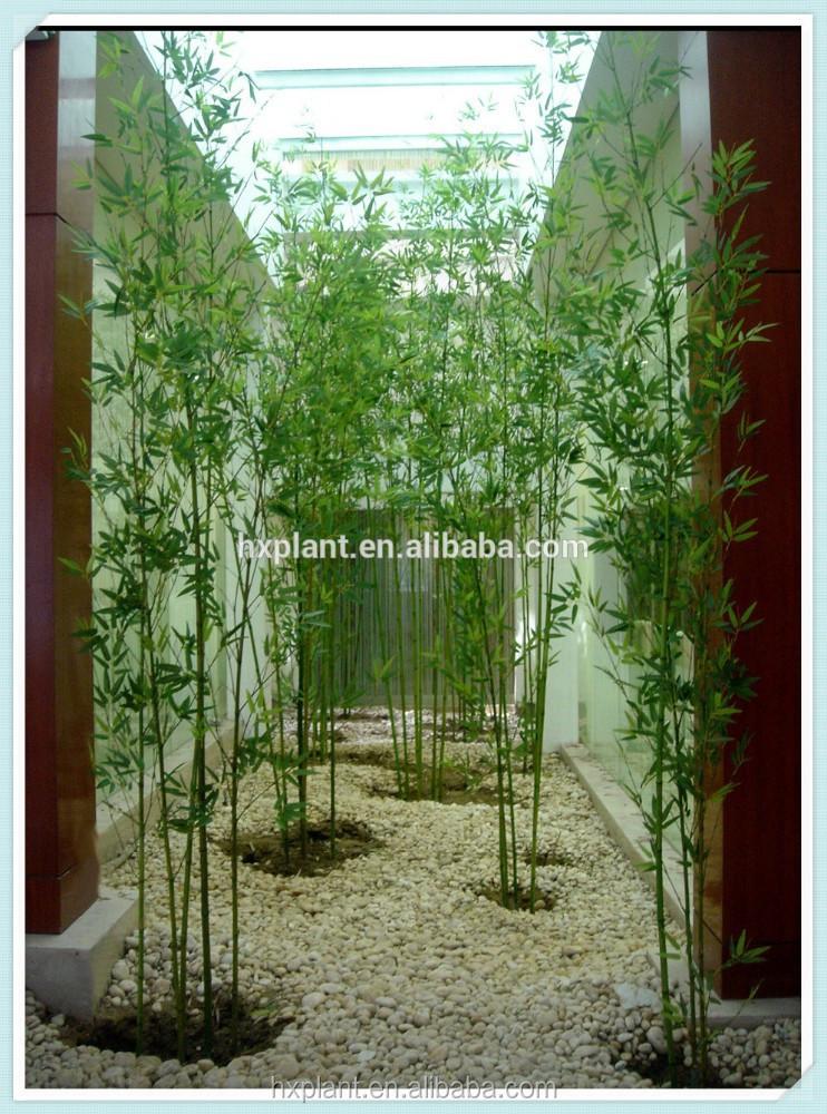 2014 faux bambou feuilles des plantes arbre pot gros pas for Faux bambou