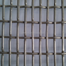 6mm square hole opening with woven type 0.8mm wire diameter barbecue wire mesh