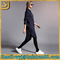 Factory price black shirt dress, cassal shirt dresses, colorful shirt dress color combinations of dresses with black