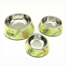 Fashion Wholesales Printed Cheap Customize Melamine Dog Bowl