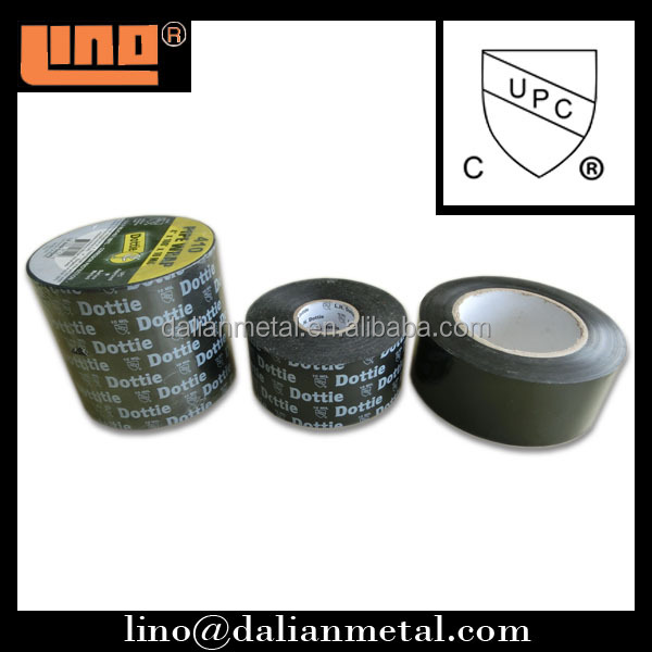 Waterproof PVC adhesive pipe wrapping tape UPC approval