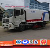 100% brand new 5000liters dust van road cleaning truck , street sweeping vehicle for sale