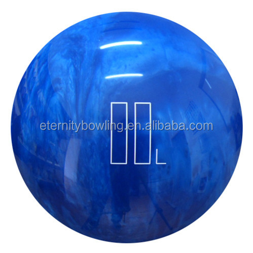 blue house bowling ball