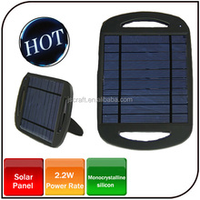 500mah 2.5W portable solar panel charger for Sumsang laptop