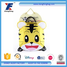 Custom new design cartoon cute anime toddler backpack school bag for kids