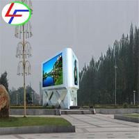 for video advertising billboard mobile trailer p10 hd waterproof outdoor rental led display