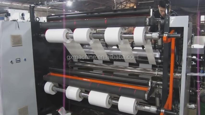 Full Automatic high precision thermal paper slitting rewinding machine