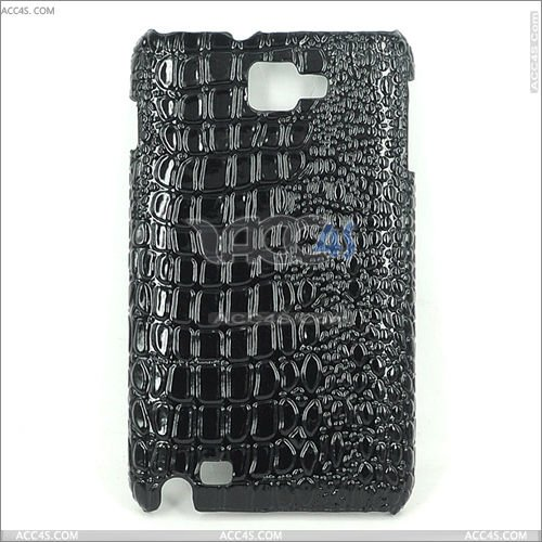 Stick PU Crocodile Skin Pattern Hard Protective Case for SAMSUNG Galaxy Note i9220