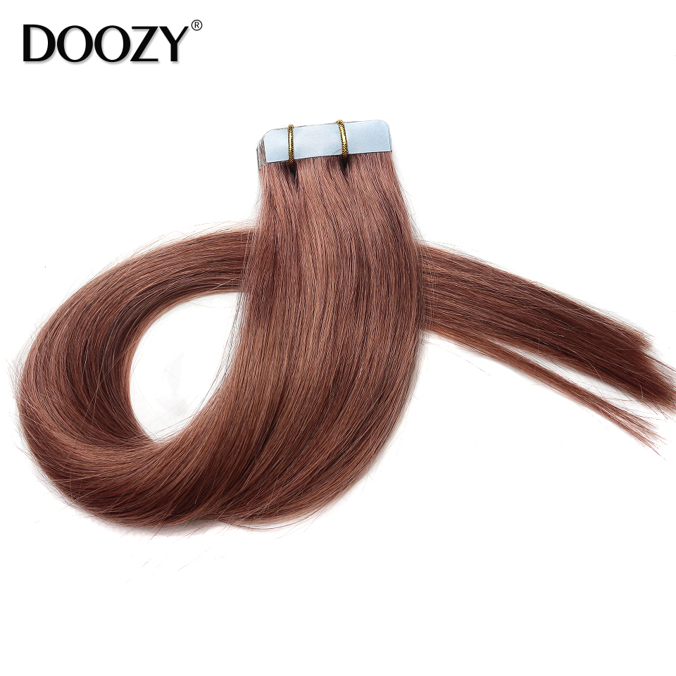 100% Indian remy hair skin weft human tape hair extensions