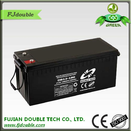 maintenance free lead acid 12v 180ah exide battery