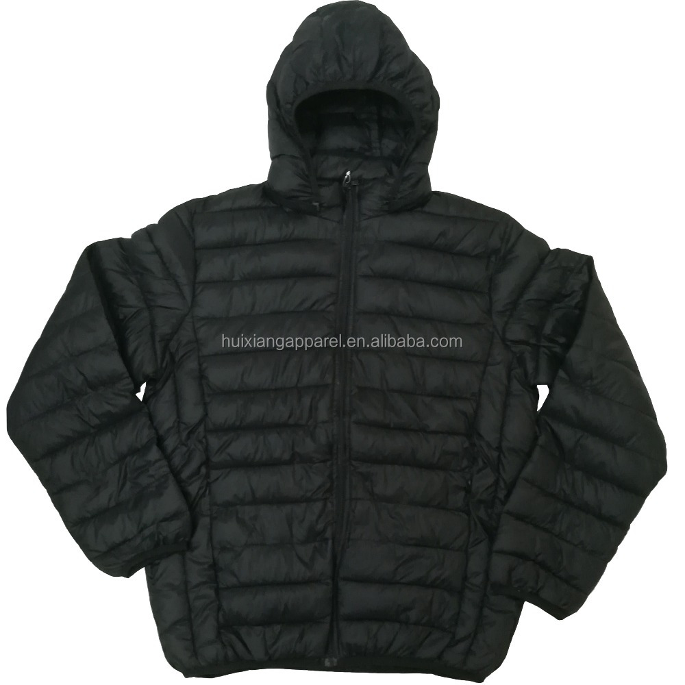 New Apparel Men Jacket Winter Quilted