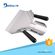 Popular high quality stainless steel potato chips serving french fry scoop