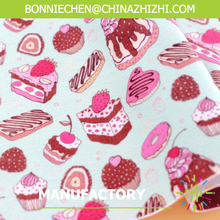 cakes printed felt , CMYK Printed craft felt shape A4 size for diy