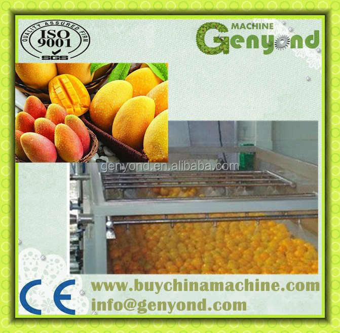 fresh mango cutting machine / mango slicing machine