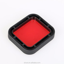 High Quality Red filter for Original GoPro Hero 5 waterproof case