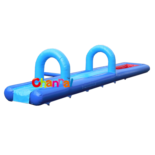 Single Lane Water Slide n Slip with Pool