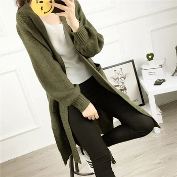 C72653A Lady fashion cardigan sweater ladies handmade knitted sweater