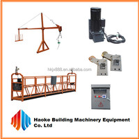 building maintenance cradle windows cleaning washer machine