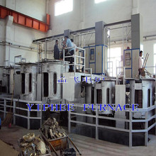 Induction Copper Melting Furnace for Brass /Bronze