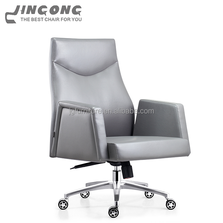 foshan office furniture commercial movable conference chair with middle back