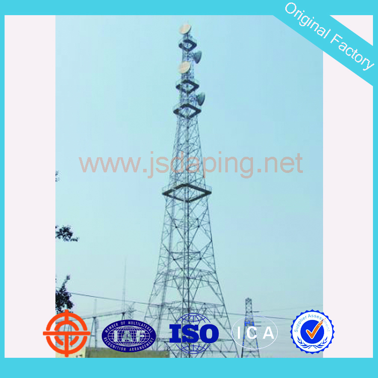 self supporting radio tower