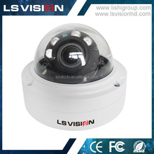 LS VISION 2 Megapixel Poe Zoom Dome IP Infrared Digital Web Camera with 2.8-12mm Motorized Lens