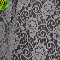 2015 hot sell 89# lace fabric with spandex and polyester