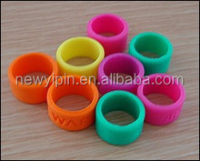 High quality exquisite Silicone Finger Ring with company logo