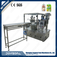 automatic sea salt stand-up pouch filling machine/shanghai manufacturing machine