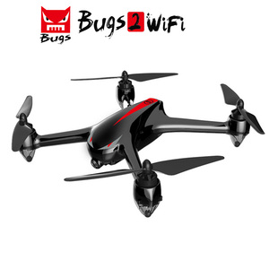 MJX bug 2 wifi rc drone with gps 1800mAh 1080p 30fps helicopter drone with hd camera