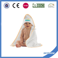 100% Cotton Hooded Baby Bathrobe, Baby Hooded Bath Towel