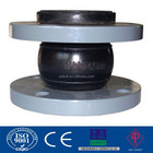 Single sphere bellow rubber expansion joint flange end