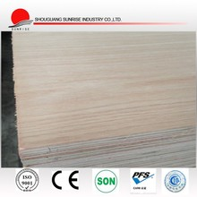 different types of wood veneered plywood for wall decoration