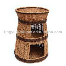 chinese wicker pet basket wholesale