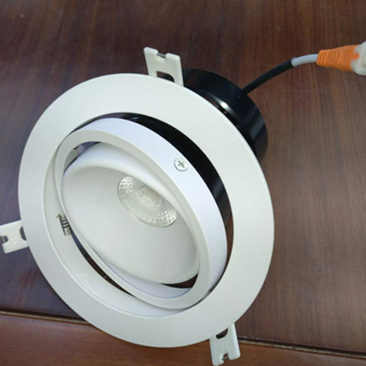 flicker free <strong>10W</strong> 12W <strong>LED</strong> COB <strong>downlight</strong>
