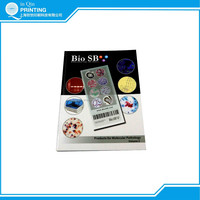 A4 gloss art paper full color offset printing catalogue printing