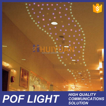 HUIYUAN cost effective best plastic ceiling optic fiber light