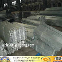 Q235 A Hot dipped Galvanized Angle bar exporting to Australia
