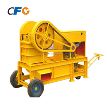 China Supplier 5-20 tph Tractor Car Body Mobile Stone Jaw Crusher PE 250x400 for Sale