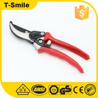 200mm gardening stainless steel scissor, professional pruning shear