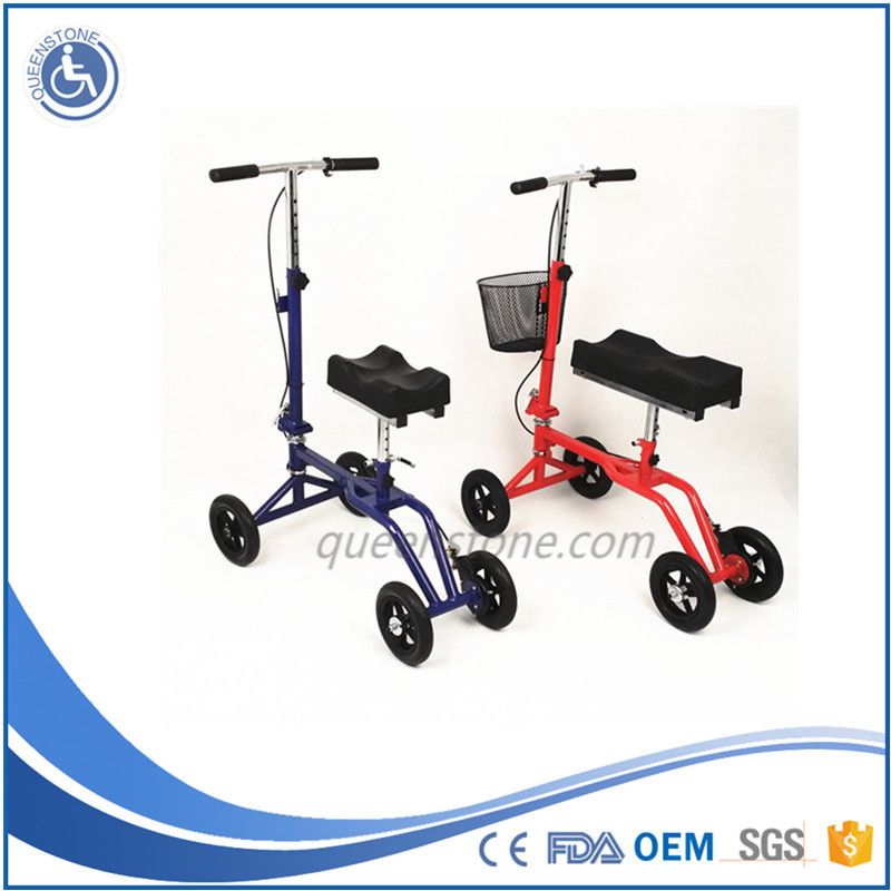 Walker rollator Knee foot injuried rehab mobility wheelchair crutch replacement with FDA CE