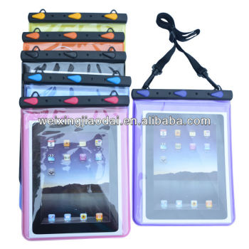 Waterproof Diving Bag With Earphone High Transparent Touch For Tablet PC