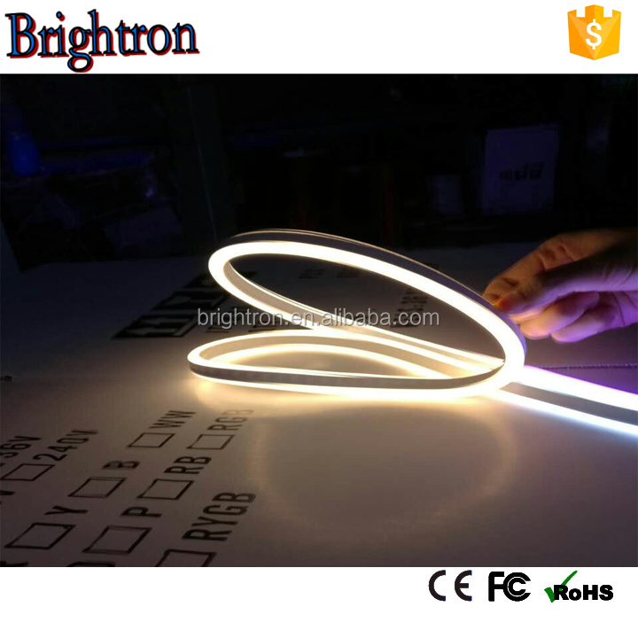 110V 8*16mm SMD2835 double sided led neon tube for holiday decoration lighting