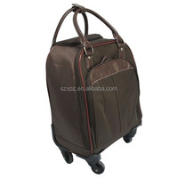 Promotion free wheels carry on luggage bag case